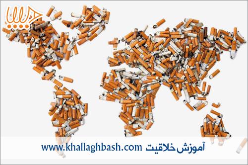 تبلیغ خلاق ضد سیگار